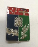 Distintivo Metallico 2° Reggimento Genio Pionieri Piacenza Esercito Colore Argento Spilla In Metallo Araldico Militare - Altri