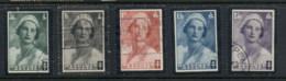 Belgium 1935 Welfare Queen Astrid Memorial Asst FU - Unclassified