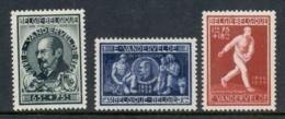 Belgium 1946 Welfare Emile Vanderveide Institute (gum Disturbance) MH - Unclassified