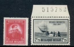 Belgium 1947 Antarctic Expedition MUH - Unclassified