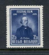 Belgium 1947 World Film & Fine Arts Festival MUH - Unclassified