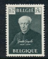 Belgium 1949 Welfare Guido Gezelle MUH - Belgium