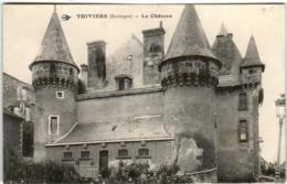 6ED 112 CPA - THIVIERS - LE CHATEAU - Thiviers
