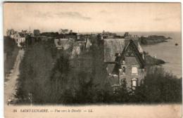 61kst 937 CPA - SAINT LUNAIRE - VUE VERS LE DECOLLE - Saint-Lunaire