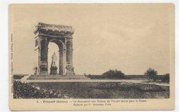 PROYART - N° 6 - LE MONUMENT AUX ENFANTS DE PROYART MORTS POUR LA FRANCE - CPA NON VOYAGEE - Autres Communes