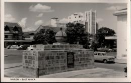 ! S/w Ansichtskarte Nairobi, Galton Fenzi Memorial, Denkmal - Kenya