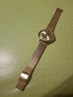Montre Mécanique FORTIS Skylark Plaqué Or Bracelet SRC - Horloge: Luxe