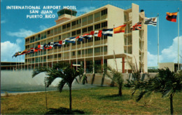 ! Moderne Ansichtskarte Puerto Rico, San Juan, International Airport Hotel, Tower - Puerto Rico