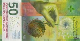 Suisse 50 Francs (P77) 2015b (Pref: Q) -UNC- - Switzerland