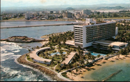 ! Moderne Ansichtskarte Puerto Rico, San Juan, Hilton Hotel, 1963 - Puerto Rico