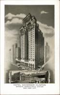 ! Moderne Ansichtskarte New York, Hotel Govenor Clinton, USA, Architecture, Skyscraper, Hochhaus - Manhattan