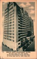 ! Moderne Ansichtskarte New York, Beaux Arts Hotel , East Side, Architecture, USA - Manhattan
