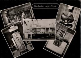 ! Moderne Ansichtskarte Kerkschip St. Jozef, Kirchenschiff, Antwerpen, Bateau Chapelle - Antwerpen