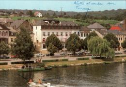 ! Moderne Ansichtskarte Remich, Hotel Saint Nicolas, Luxemburg, Luxembourg - Remich