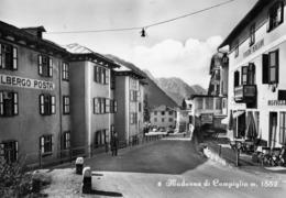 TRENTO-MADONNA DI CAMPIGLIO-ALBERGO POSTA-PENSIONE MENEGHINI - Trento
