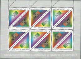 UNGARN 1995 Mi-Nr. 4347/48 Kleinbogen ** MNH - Blocchi & Foglietti