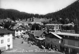 TRENTO-MADONNA DI CAMPIGLIO-PENSIONE SUISSE-HOTEL ZELEDRIA-AUTOBUS - Trento