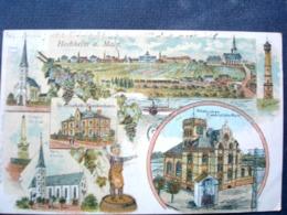 Allemagne  ,hochheim A. Main , Vues Diverses De 1919 - Autres