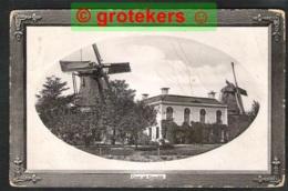 GORREDIJK Groet Uit Met 2 X Een Molen Ca 1922 - Pays-Bas