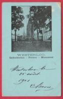 Westerlo - Gedenkteeken Peeters -1901 ( Verso Zien) - Westerlo