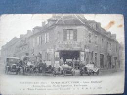 03 ,marmignolles ,garage Alatienne,...beau Plan............carte état Moyen ,prix De Départ En Rapport - Autres Communes