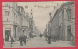 Berchem - Statiestraat ... Geanimeerd -1919 ( Verso Zien) - Antwerpen