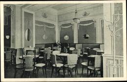 Cp Mariánské Lázně Marienbad Region Karlsbad, Konditorei Und Cafe Franz Walter, Innenansicht - Tchéquie
