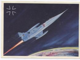 Wehretechnik Bundesrepublik Deutschland : Lockheed STARFIGHTER F 104 -1959 - Aviation