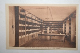 76 : Sanatorium Marin Des Grandes Dalles  - Lingerie - Frankreich