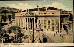 Cp Lisboa Lissabon Portugal, Theatro Garrett - Andere