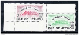 ISLE OF JETHOU 1962 EUROPA MNH - 1962