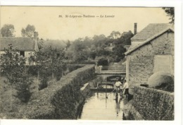 Carte Postale Ancienne Saint Léger En Yvelines - Le Lavoir - St. Leger En Yvelines