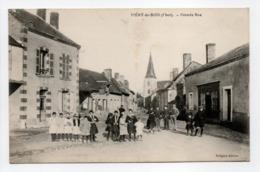 - CPA Méry-ès-Bois (18) - Grande Rue (belle Animation) - Edition Gorgues - - France