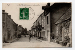 - CPA Méry-ès-Bois (18) - La Grande Rue 1911 - Edition E. M. B. N° 1 - - France