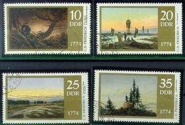GERMANY DDR [1974] MiNr 1958-61 ( OO/used ) Gemälde - DDR