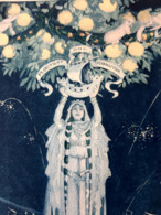 MENU STERN 1905 OFFERT PAR PARIS A MADRID GORGUET ILLUSTRATEUR ESPAGNE ESPANA GASTRONOMIE MENUS CUISINE - Menus