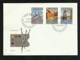 Suisse FDC Lettre Illustrée Premier Jour Bern Le 28/04/1975  Les N°980 à 982  Europa  TB Soldé ! ! ! - Europa-CEPT