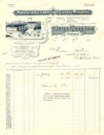 FERRERO  Manufactures De Confections Civiles & Militaires   ANNECY   74            1910   Belle Illustration - 1900 – 1949