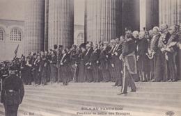CPA - ZOLA - Au Panthéon - Pendant Le Défilé Des Troupes - Evènements
