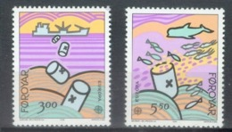 Føroyar 1986; Europa Cept, Michel 134-135.** (MNH) - 1986