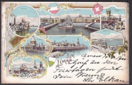 CPA  Suisse, Souvenir Du LAC LEMAN, 1900 - VD Vaud
