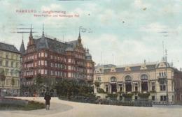HAMBURG , Germany , 1900-10s ; Jungfernstieg - Germany