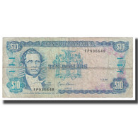 Billet, Jamaica, 10 Dollars, 1994, 1994-03-01, KM:71d, TB - Jamaique