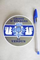 Autocollant Stickers - Banque CAISSE D'ÉPARGNE De VERDUN - 55 MEUSE - Autocollants