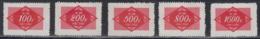 PR CHINA Postage Due Stamps 1954 - Complete Set MNGAI - 1949 - ... Volksrepubliek