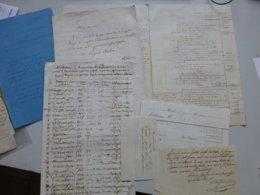 Châtellerault, Ligueil 1856, TOP Dossier Succession DE LA FOUCHARDIERE Ref 658 ; PAP07 - Historische Dokumente