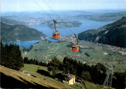 Stanserhorn Mit Oldtimer-Standseilbahn (11189) * 15. 9. 1990 - NW Nidwalden