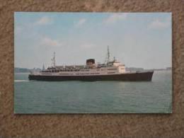 RMT KONINGIN ELISABETH - OFFICIAL CARD - Ferries