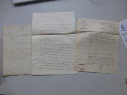 86 Lencloître 1838, Procès De CHASSE Instituteur M. Perrot,  Ref 661 ; PAP07 - Historische Dokumente