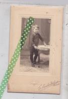 Gekartoneerde Oude Studiofoto Fr. Chevalier-Degrijse Ronse Renaix. Grootte 11cm Op 16cm - Photos